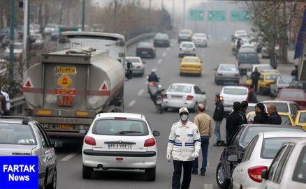 هوای تهران همچنان ناسالم است/شاخص بر روی عدد ۱۱۱