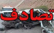 تصادف زنجیرهای ۷ دستگاه خودرو در آزادراه
