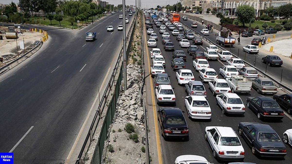 تردد روان در آزادراه تهران-شمال
