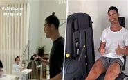 کریستیانو رونالدو در قرنطینه چه میکند؟(عکس)
