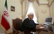 روحانی درگذشت پدر سه شهید دفاع مقدس را تسلیت گفت