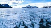 دیدنی های دریاچه آبراهام، دریاچه ای در بستری از حباب