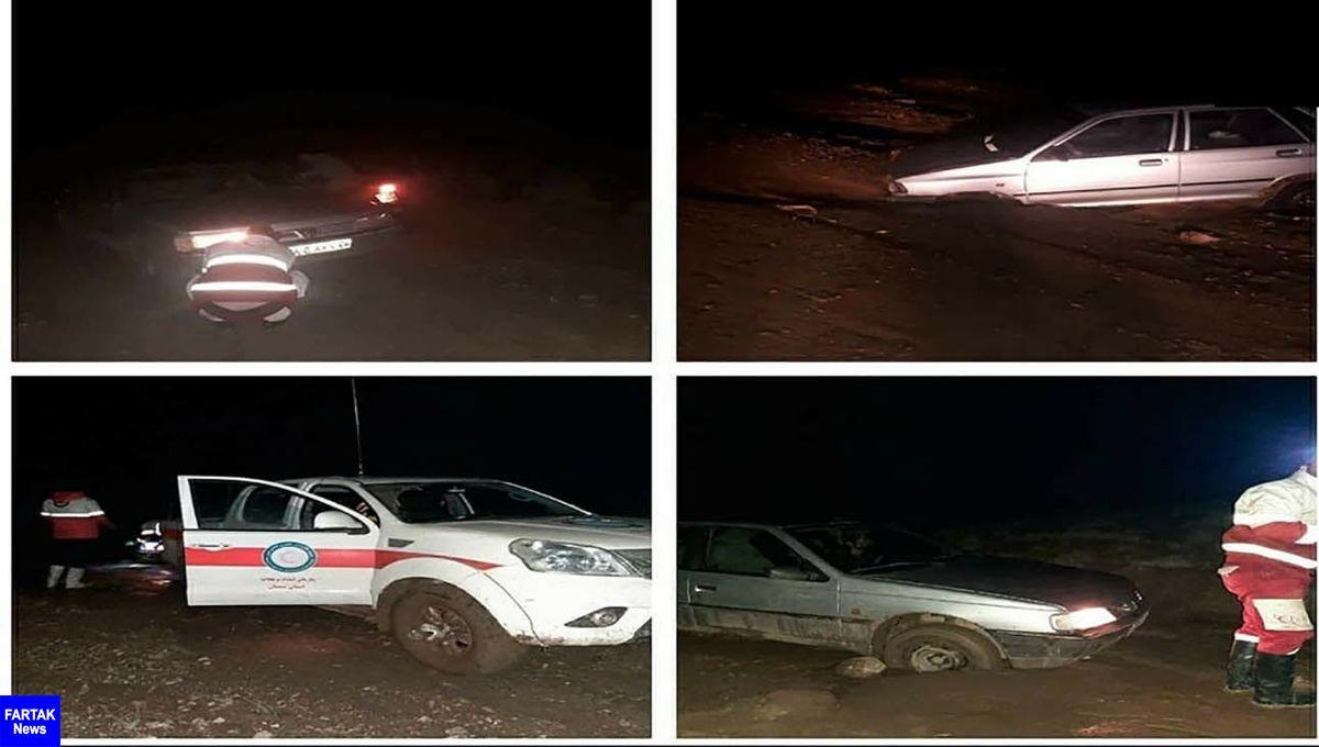 نجات 5 گمشدگان در سیلاب / عملیات سپاه نتیجه داد