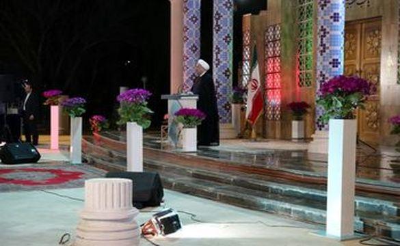 پیام نوروزی روحانی؛ امسال سال رونق است /انتقاد و اعتراض حق مردم است اما ملت خشونت را تحمل نمیکند