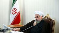تماس تلفنی روحانی  با استاندار خوزستان