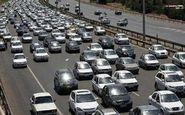 ترافیک ورودی تهران سنگین است