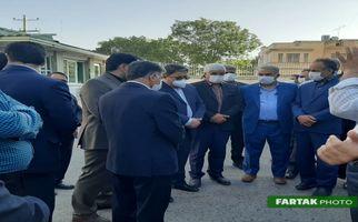 گزارش تصویری آیین رونمایی از خودرو مدیریت بحران شرکت گاز استان کرمانشاه