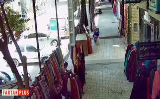فیلم با کیفیت و دقیق لحظه وقوع زلزله ۵/۹ ریشتری در بازارچه مرزی جوانرود