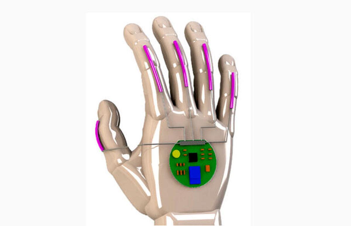 این دستکش زبان اشاره را به زبان گفتار ترجمه میکند!