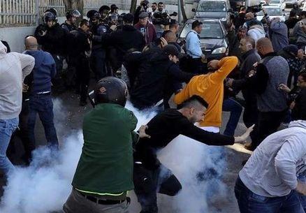زخمی شدن ۲۰ فلسطینی به ضرب گلوله نظامیان صهیونیست