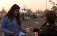زندگی عجیب آوارگان آتشسوزی کالیفرنیا در چیکو+فیلم