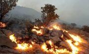دختر ۳ ساله طعمه آتش سوزی مراتع در شهرستان رستم شد