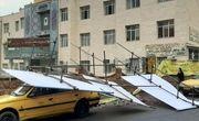 طوفان شدید در بناب خساراتی را به جا گذاشت