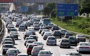 ترافیک در مسیرهای ورودی تهران سنگین است
