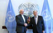 ظریف با دبیرکل سازمان ملل متحد دیدار کرد