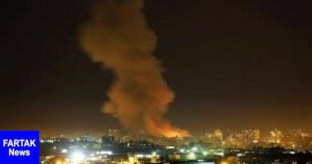 حمله جنگندههای رژیم صهیونیستی به پایگاه حماس در غزه