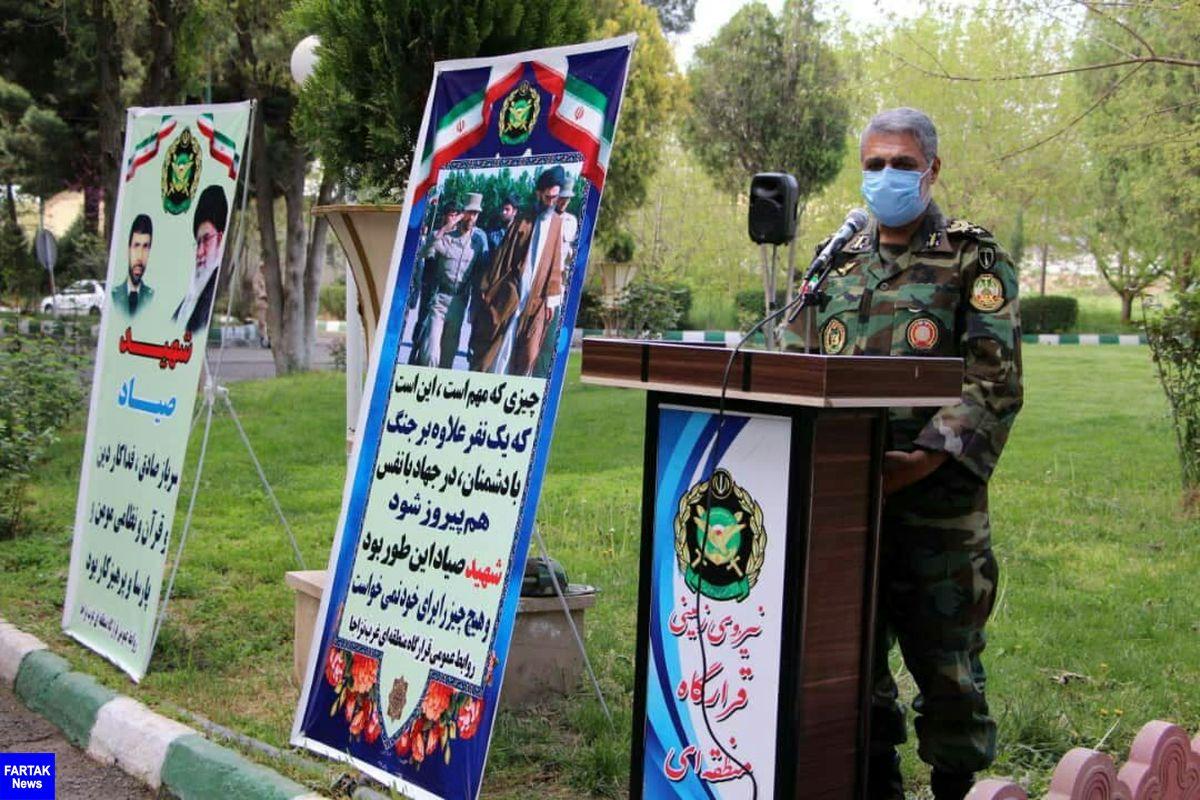 شهید صیاد شیرازی الگویی برای نسل آینده انقلاب و اسلام است/شهید صیاد الگوی مجاهدت و دلدادگی و اسوه اخلاق و عشق به اسلام بود
