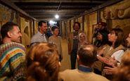 بازدید بشار اسد از تونلهای مرگ شورشیان در غوطه شرقی دمشق
