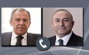 گفتوگوی تلفنی چاووش اوغلو و لاوروف درباره بحران لیبی و سوریه