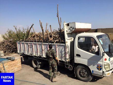 محموله قاچاق چوب در شاهیندژ توقیف شد