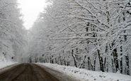 جادههای غربی برفگیر تر از شرق گیلان/تردد در محورهای کوهستانی بدون زنجیر چرخ ممنوع است