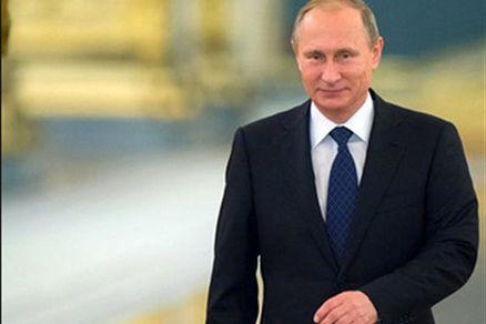 عکس/ دوچرخه سواری رئیس جمهور و نخست وزیر روسیه