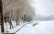 بارش برف و یخبندان در ۴ استان