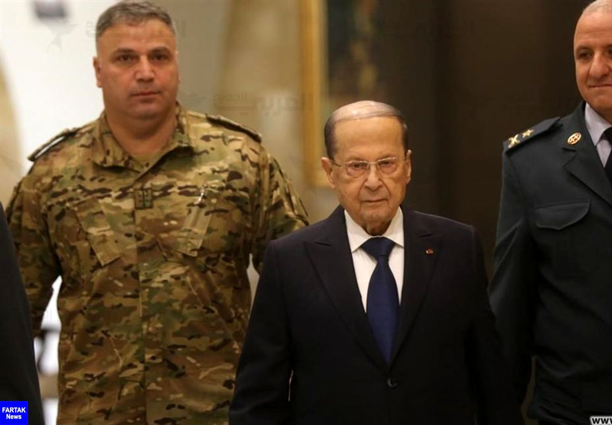 میشل عون: آتش سوزی بیروت ممکن است اقدامی خرابکارانه باشد