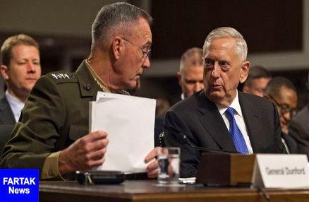 حمله به سوریه فرماندهان نظامی آمریکا را به کنگره کشاند