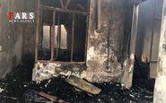 یک انبار ضایعات نیشابور در آتش سوخت