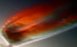 پدیدار شدن ابرهای عجیب در آسمان ارومیه