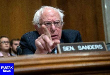 هشدار برنی سندرز به دموکراتها نسبت به تمرکز افراطی بر استیضاح ترامپ