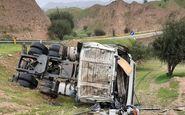 واژگونی تانکر سوخت در بندر عباس موجب مرگ راننده شد