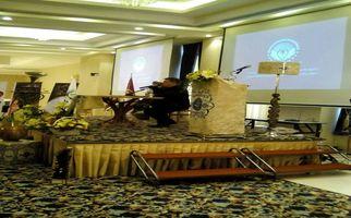 همایش همسران موفق با حضور دکتر انوشه در هتل پارسیان کرمانشاه به روایت تصویر