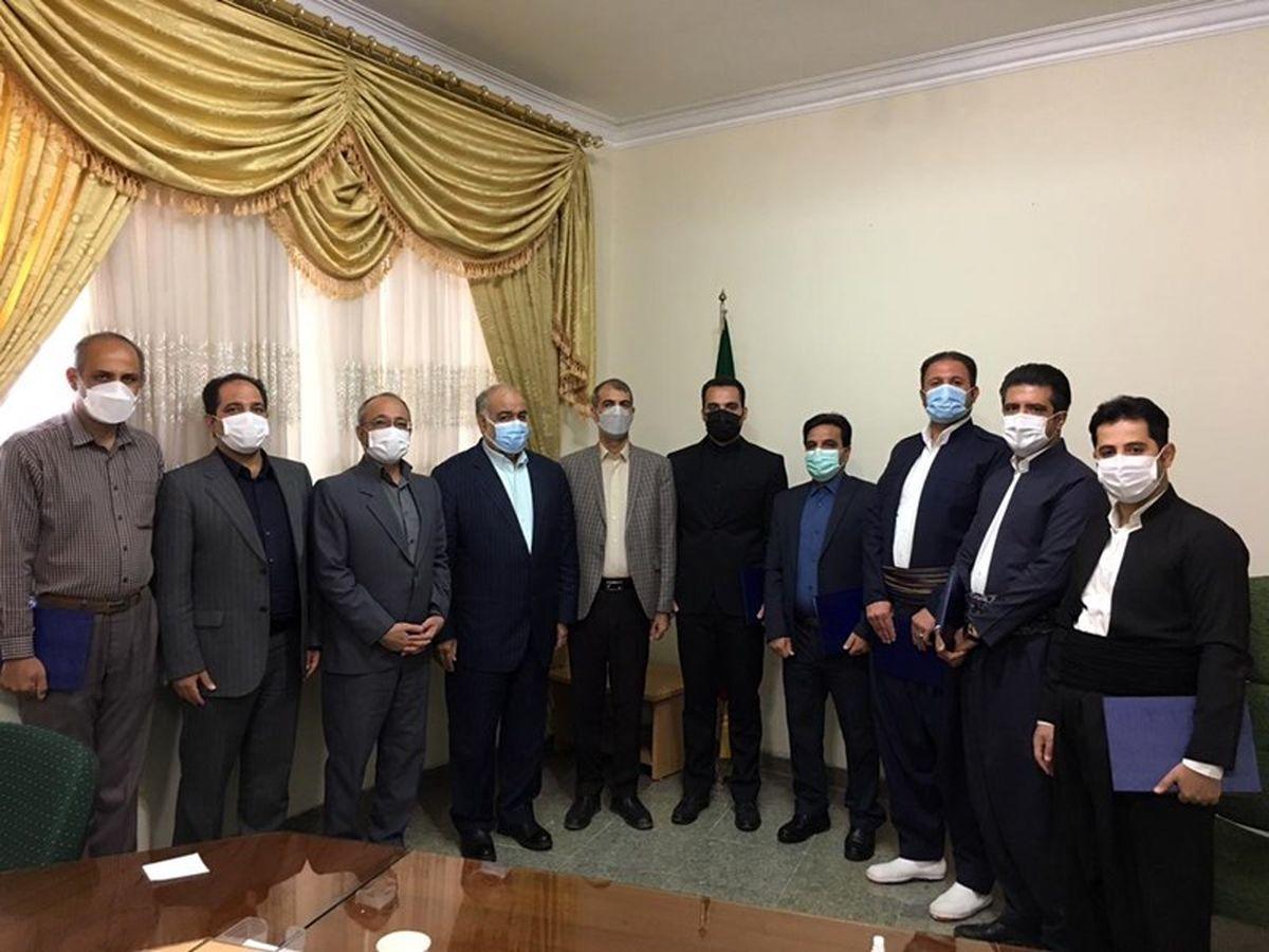 حکم انتصاب شش شهردار از سوی استاندار کرمانشاه امضاء شد