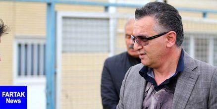 زنوزی به عیادت مدیرعامل باشگاه ماشین سازی تبریز رفت