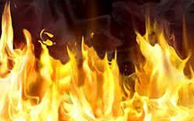 مرگ دردناک کارگر جوان در آتش سوزی بزرگ