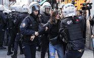 حمله پلیس ترکیه به تجمع زنان در استانبول