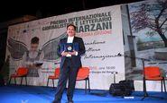 افتخارآفرینی خبرنگار ایران در ایتالیا + فیلم