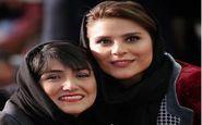 ژست جالب باران کوثری و سحر دولتشاهی در حاشیه جشنواره فیلم فجر