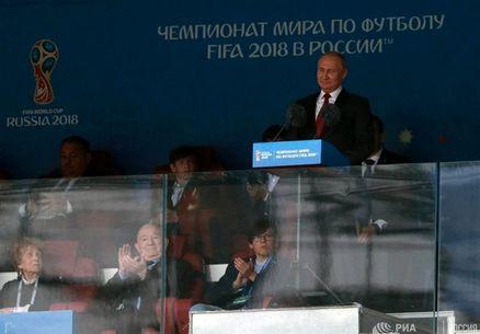 خوشحالی پوتین از میزبانی جام جهانی