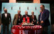 کیک تولد ۱۲۰ سالگی سینما در ایران بریده شد