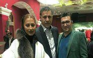 تیپ متفاوت علی دایی و همسرش دیشب در یک مراسم! + عکس