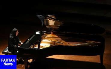 اجرای پیانیست زن ارمنی در نخستین روز جشنواره موسیقی فجر