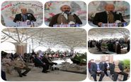 آئین مهمانی لاله ها در گلزار منور شهدا صالح آباد برگزار شد