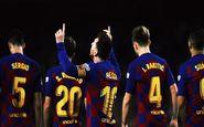 بارسلونا ترکیبی از ستاره های 12 کشور مختلف
