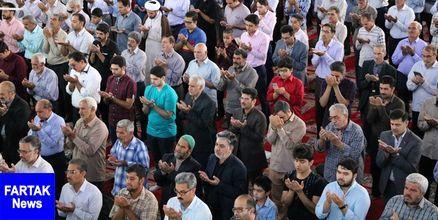 آمادهسازی مصلای اردکان برای اقامه نماز عید سعید قربان