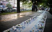 برگزاری مراسم افطار برای رانندگان تاکسی پایتخت در 5 پایانه تاکسیرانی