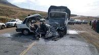 تصادف زنجیرهای در جاده روانسر سه کشته بر جا گذاشت