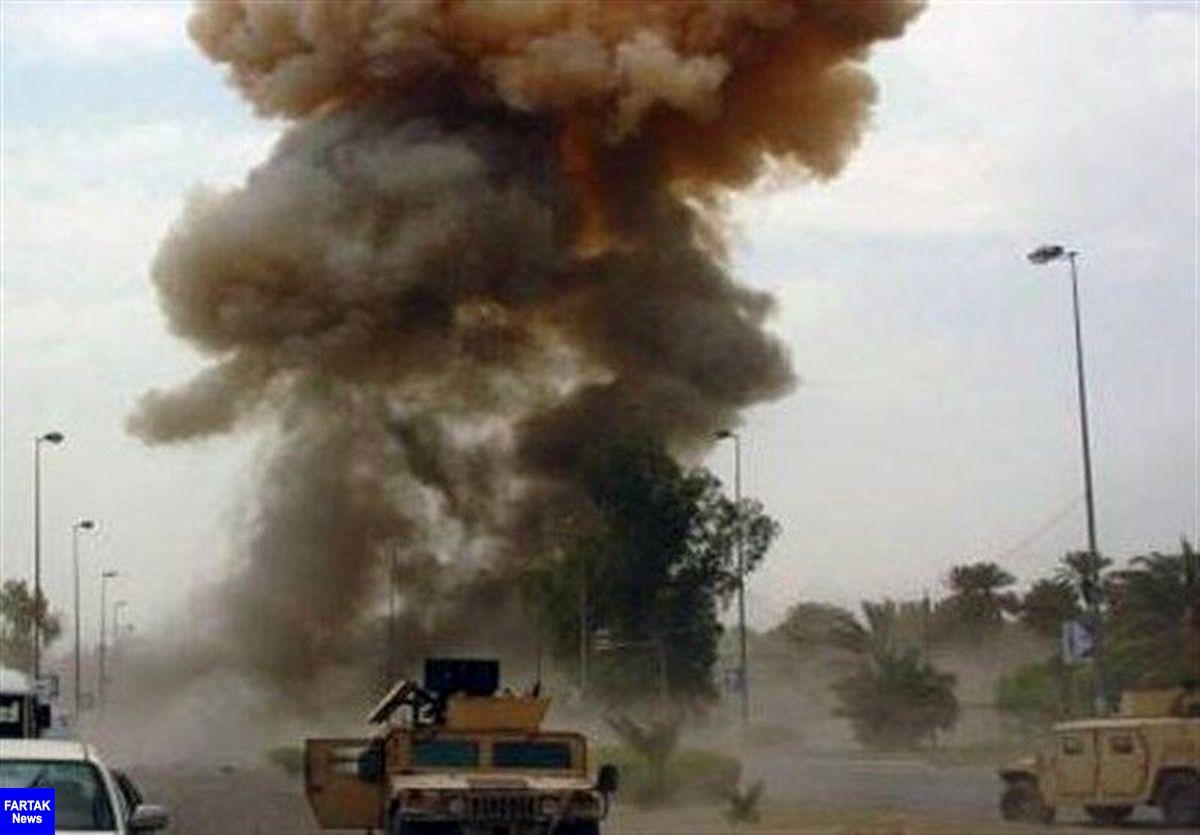 انفجار بمب در مسیر کاروان پشتیبانی ائتلاف بین المللی در عراق